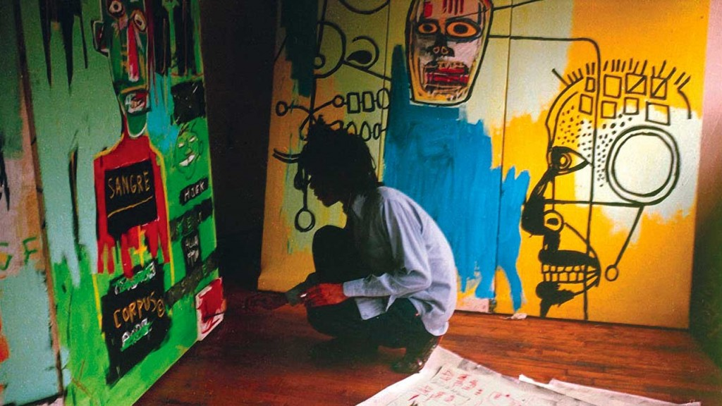 basquiat-painting-studio